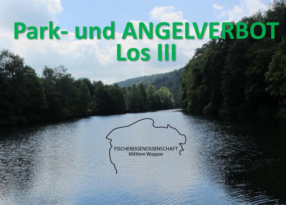 Park- und Angelverbot / Los III